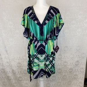 Ava & Viv NWT top, dress or swimsuit cover up 3X
